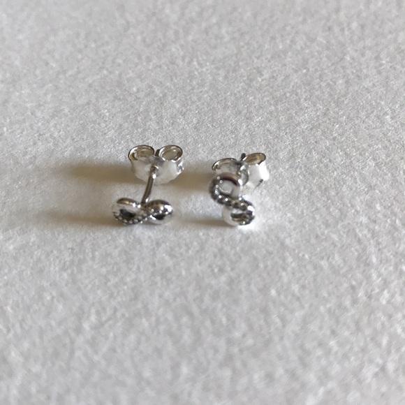 6e7620574 Pandora Jewelry | Infinite Love Stud Earrings | Poshmark